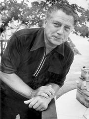 Photo of Jimmy Hoffa taken just six days before his disappearance.