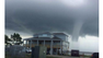 Neighbors and officials spotted a waterspout south of Quayside Village in Florida Tuesday afternoon.