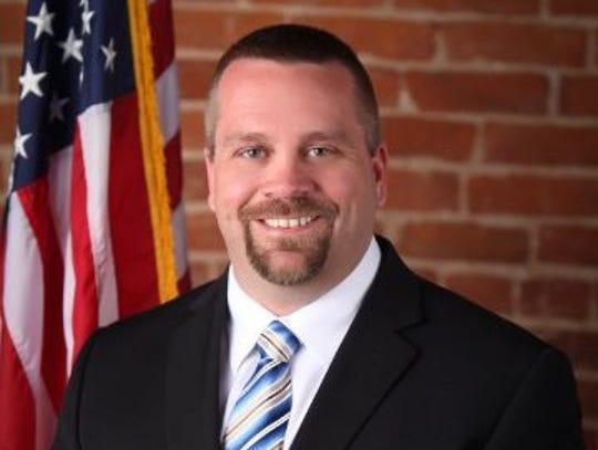 Fairview Police Chief Zack Humphreys