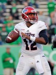 Florida Atlantic senior quarterback Jaquez Johnson