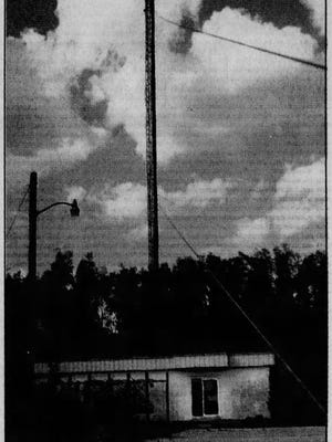 """WRCC 103.9 FM in Cape Coral began broadcasting """"memory music"""" in September 1974 to listeners within a 30-mile radius of its 340-foot radio tower out in the """"boonies"""" of Pine Island Road. Besides easy listening music, its programming consisted of news and a morning talk show."""
