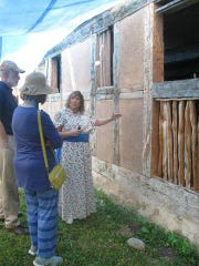 The Lutze family held an open house to show their historic 166-year-old housebarn on June 27 along Union Road, town of Newton, Manitowoc County. Sarah Lutze still lives on the property; she and volunteers provided enjoyable tours, and entertainment for all.