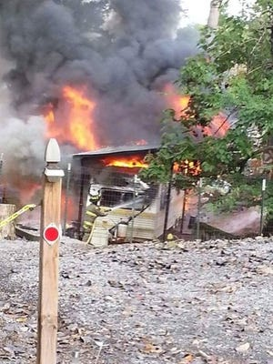 A camper explosion injured a Weaverville family on Saturday in Eastern Tennessee.