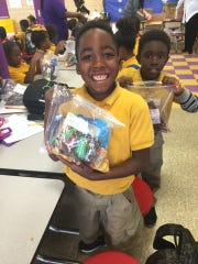 The Food Bank of Northwest Louisiana recently hosted a holiday party for 620 children from five different schools.