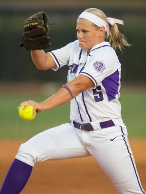 Former NFC pitching ace Lindsey Bert is now starring for Furman, where she is the preseason pick for Southern Conference Pitcher of the Year as a sophomore.