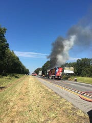 Crews from multiple local fire departments respond