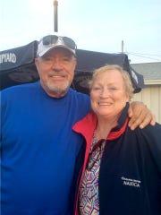 Art Herman with wife Phyllis.