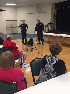 The Lee County Sheriff's Office K-9 unit will be one of the topics at a series of seminars for senior citizens starting Feb. 7.