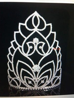 The crown that the winner of Miss SW Indiana Pride Pageant will receive.
