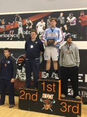 Payton Snyder takes first place at the Ryle Raider Rumble.  Snyder is undefeated so far this season with a 9-0 record.