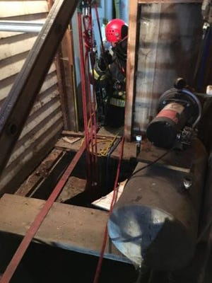 A Port Orchard man was rescued Tuesday from a well underneath his house.
