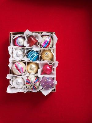 Christmas ornaments --- Image by © Lucas Allen/Corbis