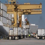 The Port of Gulfport handles millions tons of cargo exported to other countries.