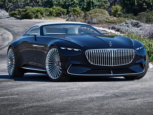 New Mercedes Benz >> Mercedes Benz Debuts Concept With 30s Flair