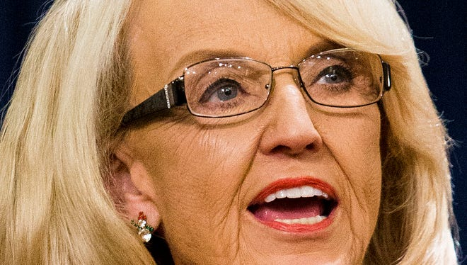 Gov. Jan Brewer says she will defend Arizona's Medicaid expansion to the state Supreme Court.