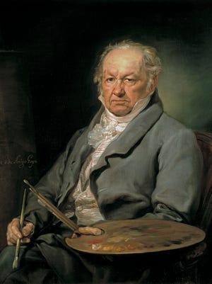 "Francisco De Goya, the Spanish romantic painter and printmaker, who created ""Goya's War: Los Desastres de la Guerra."""
