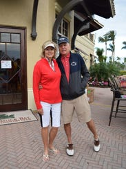 Mary Vertin and Bruce Robertson, event chair.