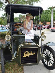 People's choice second place went to a 1906 Cadillac