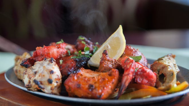 The Tandoori mixed grill is a popular dish at Palace of Asia in Maple Shade.