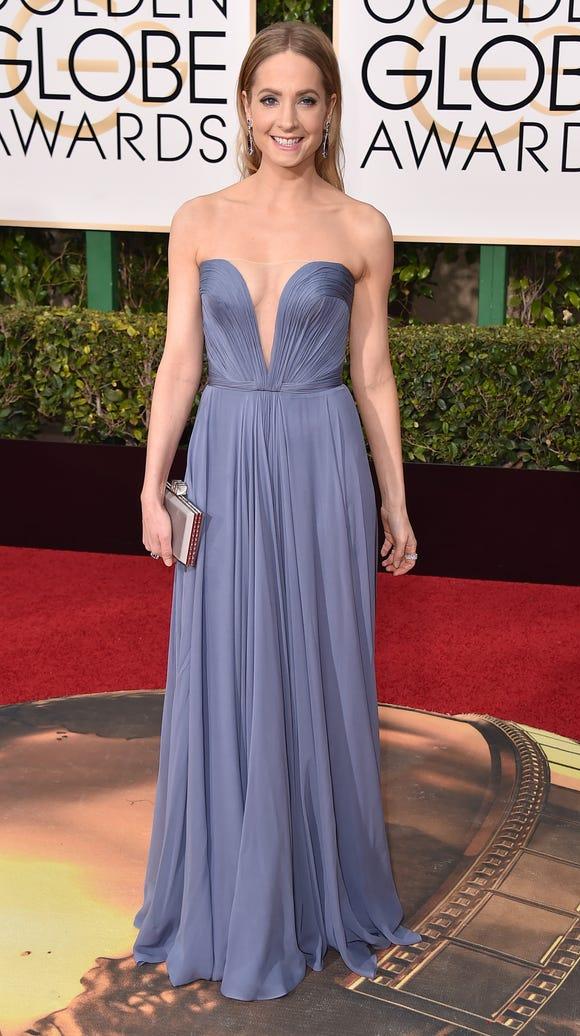 Joanne Froggatt at the Golden Globes.