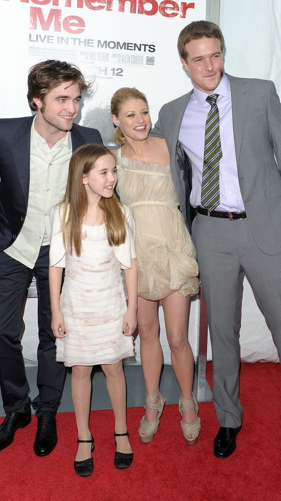 Actors Robert Pattinson, Ruby Jerins, Emilie de Ravin
