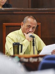 Vice Speaker Benjamin J. Cruz is shown in this file photo. On Tuesday, Cruz called on theAGl to review new details regarding Adelup's illegal pay raise controversy and issue another legal opinion.