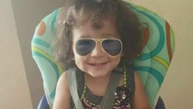 A photo of Isabella Sachs, the girl our news partners WINK News reported as the girl who died after being found unresponsive in her Cape Coral family pool last week.