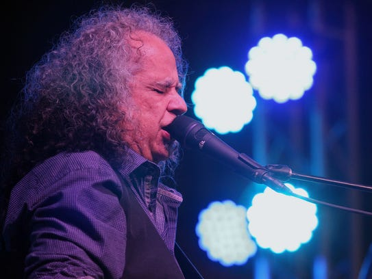 Noted blues guitarist Bobby Messano sings and plays