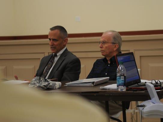 Mike Teichman (left) of Parkowski, Guerke & Swayze