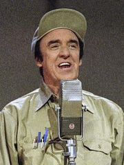 """Jim Nabors, a former cast member of the """"The Andy Griffith Show,"""" appears in Nashville for an event May 7, 1992."""