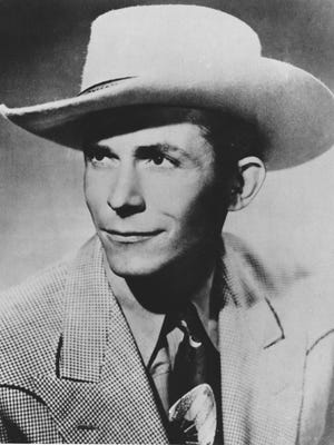 This is an undated file photo of country western singer and guitarist Hank Williams Sr. Hank Williams' tumultuous career and life ended on Jan. 1, 1953.