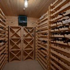 Mansion on the Market: Wine cellar awaits 800 bottles