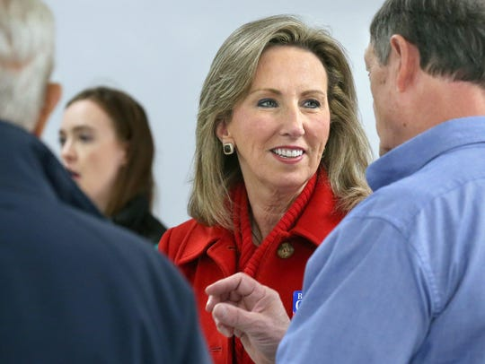 Rep. Barbara Comstock, R-Va., is one of several Republican