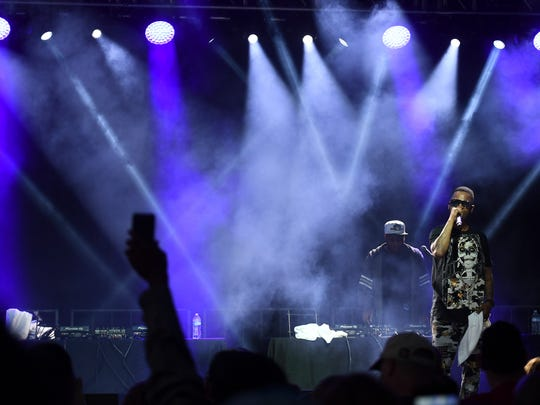 Over 7,000 people attended the Nelly, Bone Thugs-n-Harmony and Juvenile concert at the Ballpark at Jackson in April 2018.