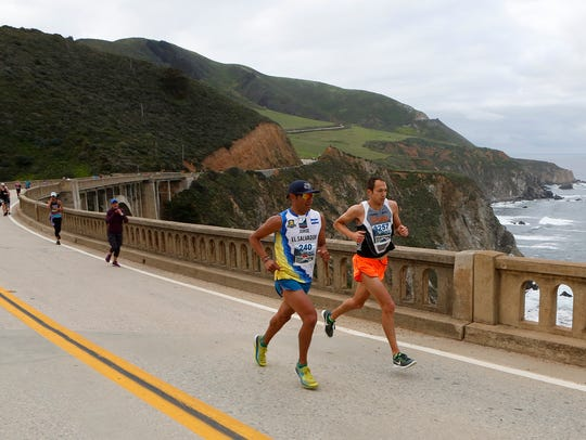 Jorge Maravilla, of Mill Valley, left, and Adam Roach,
