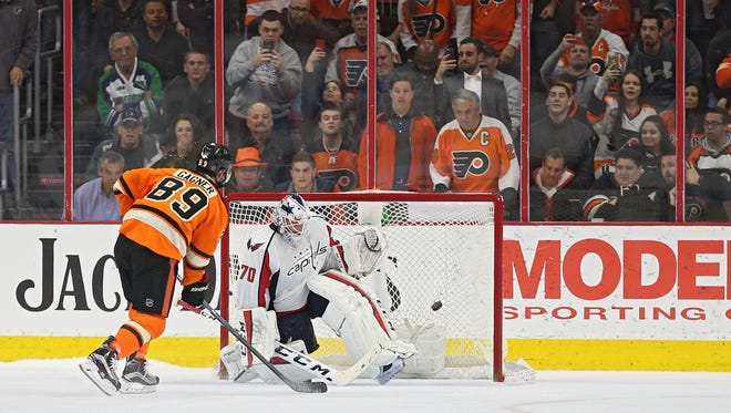 Sam Gagner's shootout goal against the Capitals late last month helped get his team into the postseason for the first time in his career.