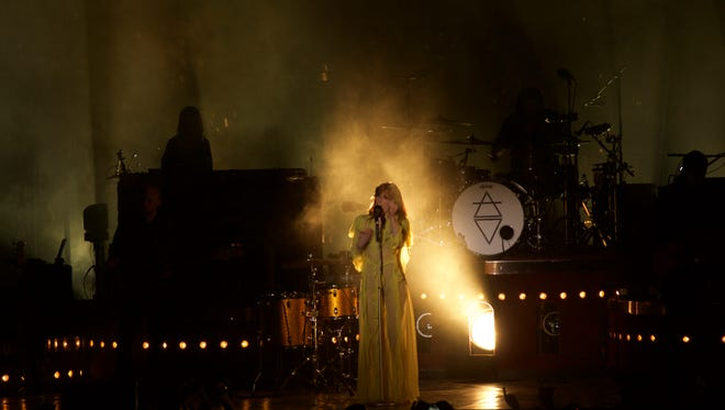 Florence + the Machine served as the festival's final headliner.