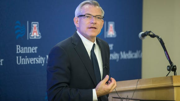 Arizona Representative David Schweikert speaks at the