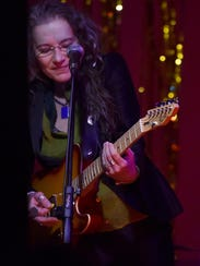 """Cathy Grier in one of her two """"Road to Memphis'' concerts"""