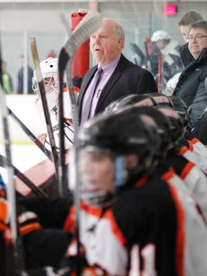 Coach Paul Moggach and his top-ranked Brighton hockey team will have to regroup from a 4-0 loss to Grosse Pointe South.