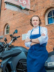 Tim Peters is chef de cuisine of Trattoria Delia and Sotto Enoteca in Burlington.