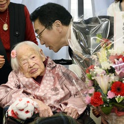 World's oldest person celebrates 116th birthday