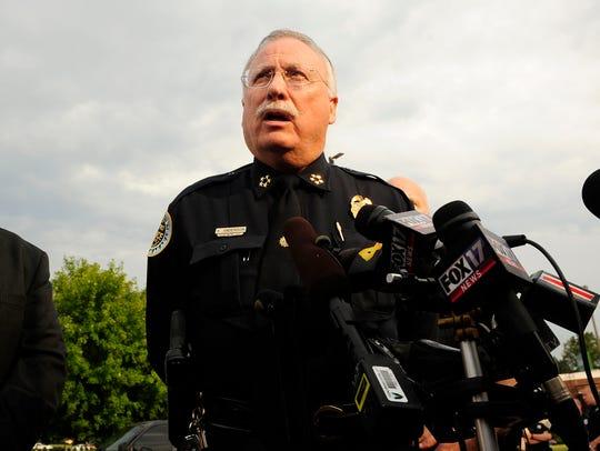 Metro Police Chief Steve Anderson
