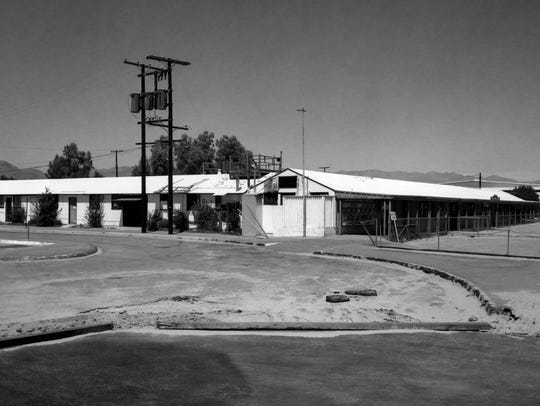 Palm Springs Airport c. 1960.