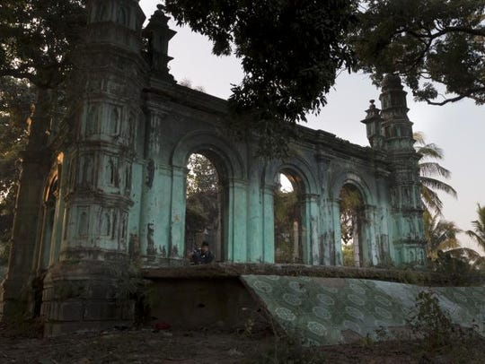A mosque in Myanmar that was attacked during the 2012