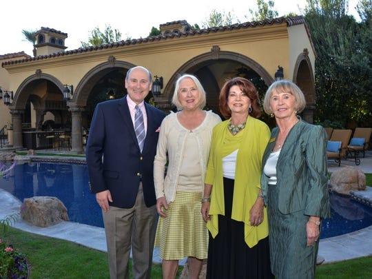 Mitch Gershenfeld, Nancy Cunningham, Carol Rochford, Linda Weakley. (Photo by David A. Lee)