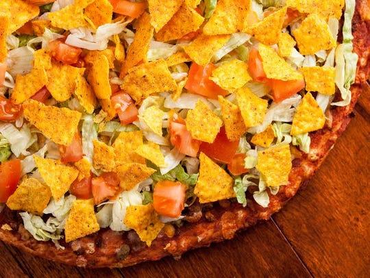 Happy Joe's Taco Pizza