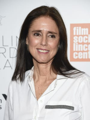 Julie Taymor attends the Film Society of Lincoln Center's 45th Chaplin Award Gala honoring Helen Mirren at Alice Tully Hall on April 30, 2018, in New York.