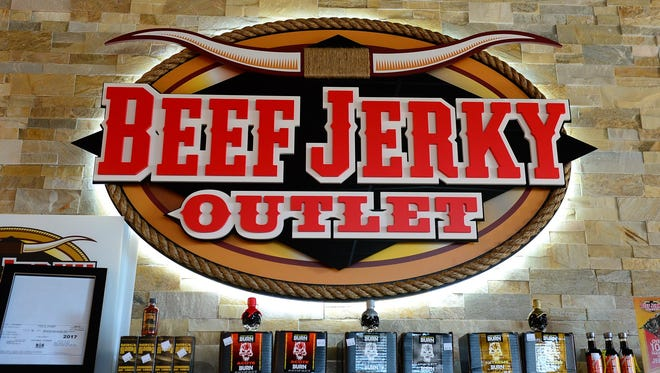 The Beef Jerky Outlet has opened in Rehoboth Beach, Del. Thursday, Sept. 28, 2017.