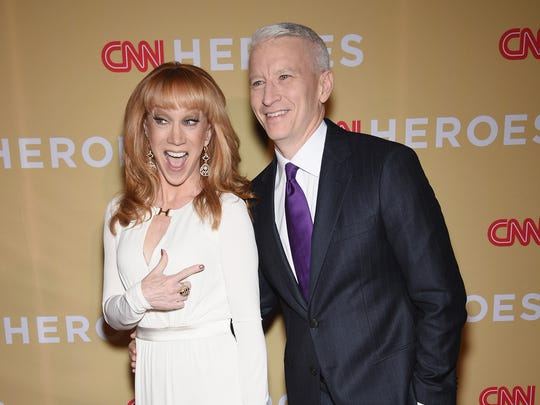 Kathy Griffin, who has hosted CNN's live New Year's